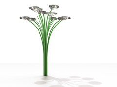Lampione stradale ad energia solareSOLAR TREE LED 2nd GENERATION - ARTEMIDE