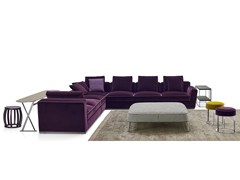 - Corner sectional fabric sofa SOLATIUM | Corner sofa - Maxalto, a brand of B&B Italia Spa