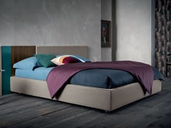 - Upholstered fabric double bed SOMMIER | Bed - Dall'Agnese
