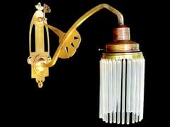 - Lampada da parete a luce diretta fatta a mano in ottone SOPRON II | Lampada da parete - Patinas Lighting