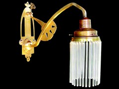 - Direct light handmade brass wall lamp SOPRON II | Wall lamp - Patinas Lighting