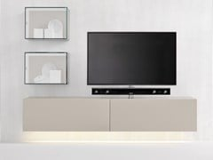 - Modular TV cabinet with flap doors SOUND SYSTEM | Wall-mounted TV cabinet - Silenia