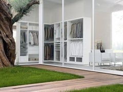 - Sectional walk-in wardrobe SPAZIOLAB - Silenia