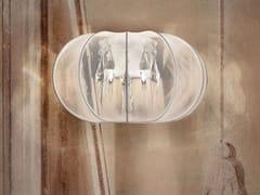 - Lampada da parete a luce diretta e indiretta in tessuto SPHERE | Lampada da parete - Masiero