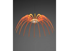 - LED PMMA pendant lamp SPICA 120 - Quasar