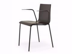 Sedia in legno con braccioliSPLIT | Sedia con braccioli - ADICO