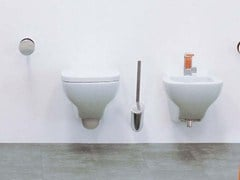 - Wall-hung ceramic toilet with bidet SPRINT | Wall-hung toilet with bidet - CERAMICA FLAMINIA