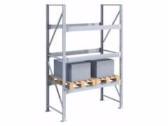 - Galvanized steel shelveing system SPZ181030.12 - Castellani.it