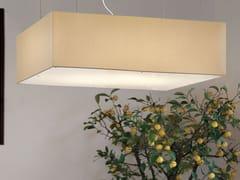 - Direct light fabric pendant lamp SQUARE | Pendant lamp - Masiero