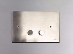 Placca di comando per wc in acciaio inox4200161/2 | Placca di comando per wc - RIFRA