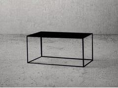 - Rectangular steel coffee table STEEL FRAME   Rectangular coffee table - Baltic Promo