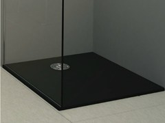- Built-in shower tray STONE BLACK - Alice Ceramica