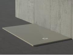 - Built-in rectangular shower tray STONE GREY - Alice Ceramica