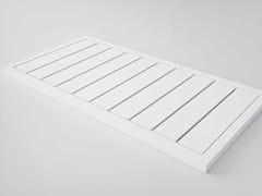 - Slatted rectangular Stonelight shower tray KAI | Shower tray - Flora Style