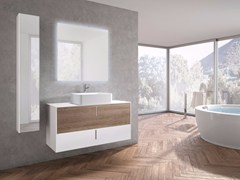 - Wall-mounted vanity unit with drawers STR8 - 22 - GRUPPO GEROMIN