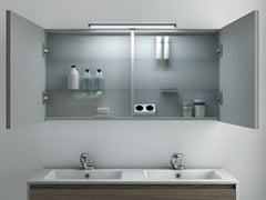 - Bathroom mirror with cabinet STRATO | Bathroom mirror - INBANI