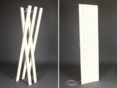 - Plywood coat stand STREIPS | Coat rack - AMBIVALENZ
