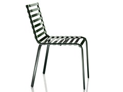 - Stackable chair STRIPED | Chair - Magis