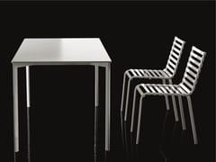 - Rectangular garden table STRIPED   Rectangular table - Magis