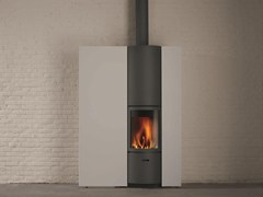 - Wood-burning wall-mounted stove for air heating STÛV 30-IN - Stûv