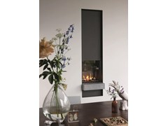 - Gas wall-mounted fireplace with panoramic glass STÛV B-50 | Fireplace - Stûv
