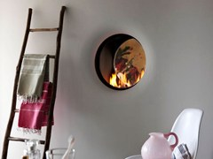 - Double-sided gas wall-mounted fireplace STÛV B-50 | Double-sided fireplace - Stûv