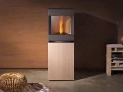 - Pellet swivel steel and wood stove STÛV P-10 | Steel and wood stove - Stûv