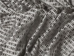 - Fabric with graphic pattern for curtains SUOMI PIEDRA - Equipo DRT