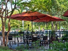 - Rectangular acrylic fabric Garden umbrella SUPREMO | Rectangular Garden umbrella - Michael Caravita