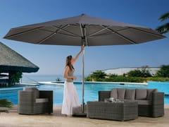 - Round acrylic fabric Garden umbrella SUPREMO | Round Garden umbrella - Michael Caravita