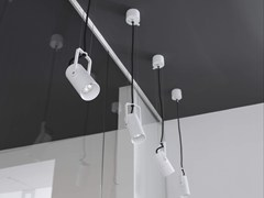 - LED suspended aluminium spotlight ZPRO | Suspended spotlight - Brillamenti by Hi Project
