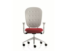 - Swivel task chair with 5-Spoke base with armrests FLOW | Swivel task chair - Emmegi