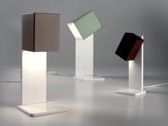 Lampada da tavolo a LED orientabile in metalloCUBICK | Lampada da tavolo - CATTANEO ILLUMINAZIONE