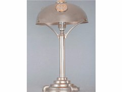 - Direct light handmade nickel table lamp NEW YORK I | Table lamp - Patinas Lighting