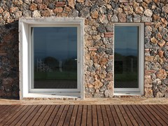 Finestra a battente con doppio vetro in acciaio TABS® | Finestra a battente -