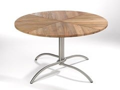 - Round teak garden table TAKU TEAK | Round table - FISCHER MÖBEL