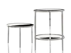 - Low round aluminium coffee table TAMBOUR | Coffee table - Magis
