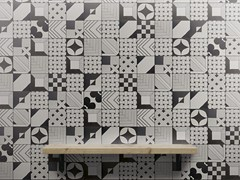 - Indoor glazed stoneware wall tiles TANGLE | Wall tiles - ORNAMENTA