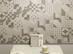 - Indoor glazed stoneware wall tiles TANGLE WARM | Wall tiles - ORNAMENTA