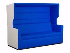 - High-back fabric sofa TANK ROOF | Sofa - Palau