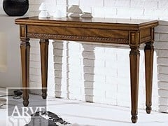 - Extending solid wood console table TAORMINA - Arvestyle