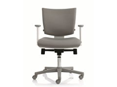 - Task chair with 5-Spoke base with armrests EM59 | Task chair with armrests - Emmegi