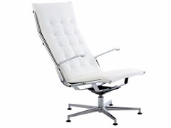 - Height-adjustable executive chair with 5-spoke base TAYLORD SQUARED | Executive chair - Luxy