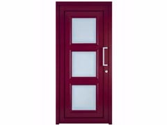 - Exterior custom glazed PVC entry door TEKNO TE040 - FOSSATI PVC