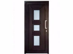- Exterior custom glazed PVC entry door TEKNO TE075 - FOSSATI PVC