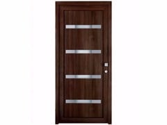 - Exterior custom glazed PVC entry door TEKNO TE253 - FOSSATI PVC