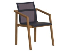 - Batyline® garden chair with armrests TEKURA | Batyline® chair - Les jardins
