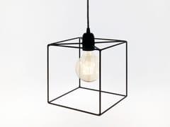Lampada a sospensione a luce diretta incandescente in ferroTERRA | Lampada a sospensione in ferro - BIGDESIGN