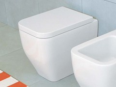 - Ceramic toilet with bidet TERRA | Toilet with bidet - CERAMICA FLAMINIA