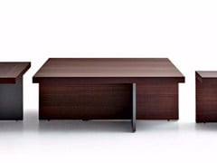 - Wooden coffee table TETRIS | Square coffee table - MOLTENI & C.